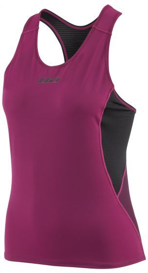Louis Garneau Women's Tri Comp Triathlon Tank Top Color: Black/Pink/Purple