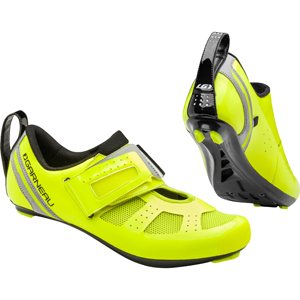 Garneau Tri X-Speed III Cycling Shoes Color: Bright Yellow