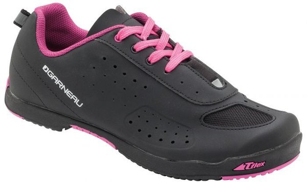 Garneau Women's Urban Cycling Shoes Color: Black/Pink