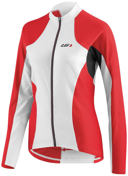 Garneau Ventila SL Long Sleeve Jersey - Women's Color: White/Red/Black