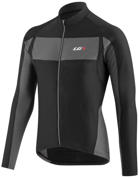 Garneau Ventila SL Long Sleeve Jersey Color: Black/Gray