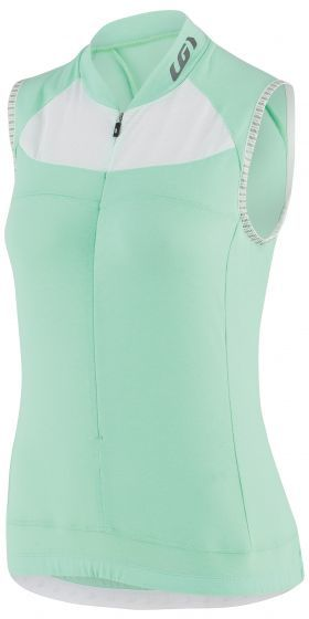 Louis Garneau Women's Beeze 2 Sleeveless Cycling Jersey Color: Bali Island