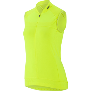 Louis Garneau Beeze 2 Sleeveless Cycling Jersey - Women's Color: Bright Yellow
