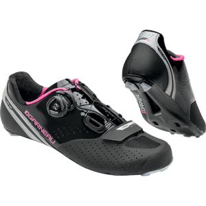 Louis Garneau Women's Carb LS-100 II Cycling Shoes Color: Black/Pink
