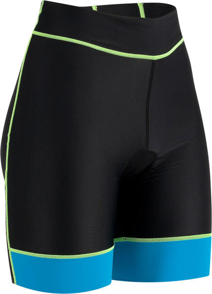 Louis Garneau Women's Comp Shorts Color: Atomic Blue