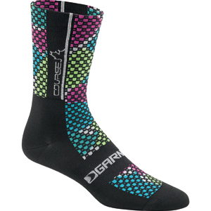 Louis Garneau Women's Course Socks Color: Multi/Black