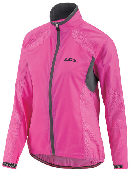 Louis Garneau Women's Luciole RTR Cycling Jacket Color: Pink Glow