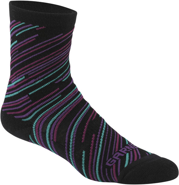 Garneau Women's Merino 60 Socks Color: Black/Cricket