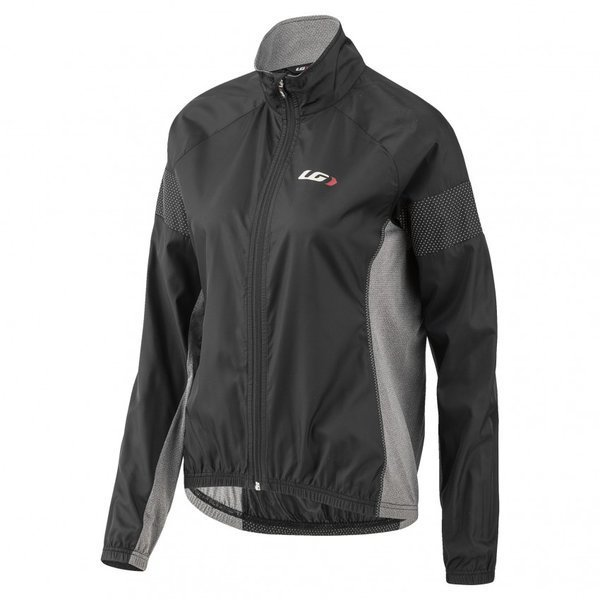 Garneau Women's Modesto 3 Cycling Jacket Color: Black/Gray