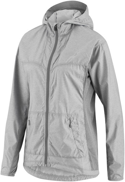 Louis Garneau Women's Modesto Hoodie Jacket Color: Heather Gray