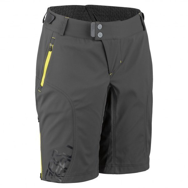 Louis Garneau Women's Off Season Shorts Color: Grey/Yellow