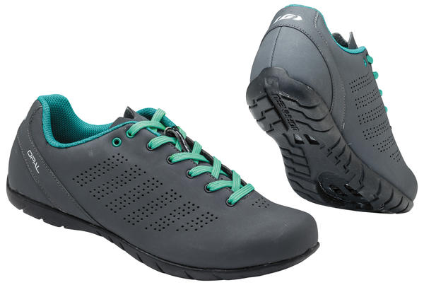 Louis Garneau Women's Opal Cycling Shoes Color: Asphalt