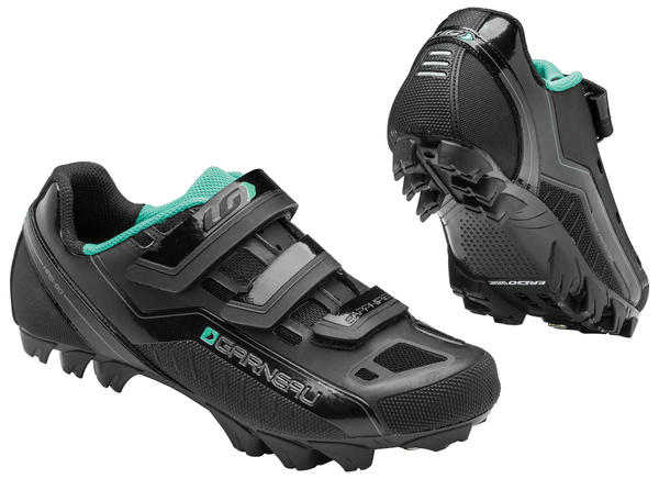 Louis Garneau Women's Sapphire MTB Shoes Color: Black
