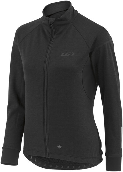 Garneau Women's Thermal Edge Jersey Color: Black