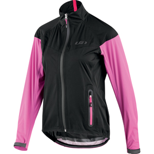 Louis Garneau Women's Torrent Jacket Color: Black/Pink
