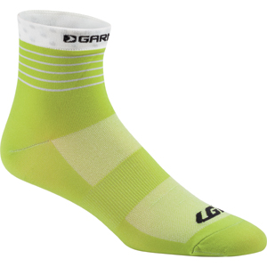 Louis Garneau Women's Tuscan Cycling Socks Color: Asphalt/Sulphur Spring
