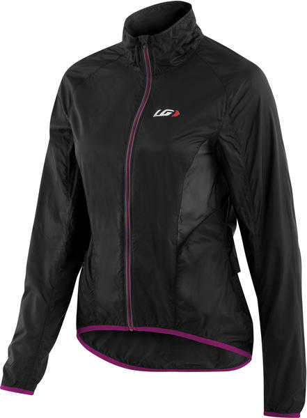 Garneau X-Lite Jacket Color: Black/Purple