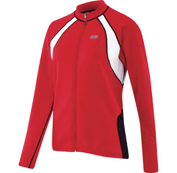 Garneau Women's Perfecto Long Sleeve Jersey Color: Red