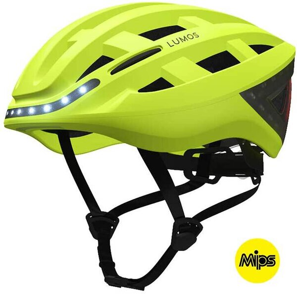 Lumos Kickstart E-Bike MIPS Color: Electric Lime