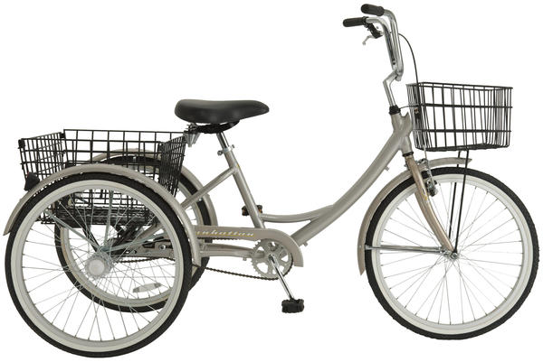 Manhattan Adult Trike Color: Champagne