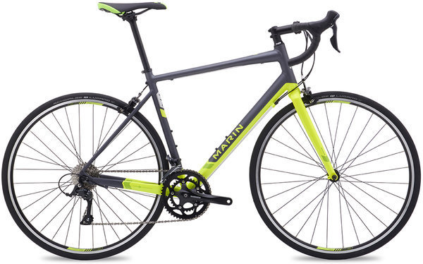 Marin Argenta Comp Color: Charcoal/Hi-Vis