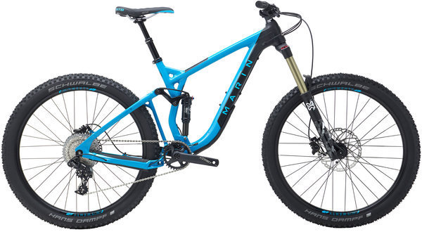Marin Attack Trail 7 Color: Gloss Cyan