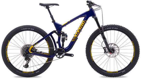 Marin Attack Trail Pro Color: Gloss Blue w/Yellow