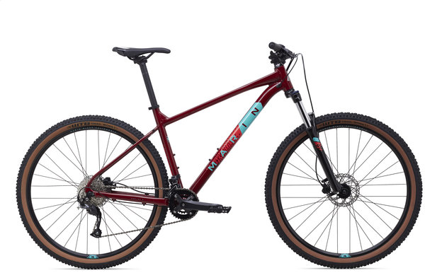Marin Bobcat Trail 4 Color: Gloss Crimson/Teal/Red