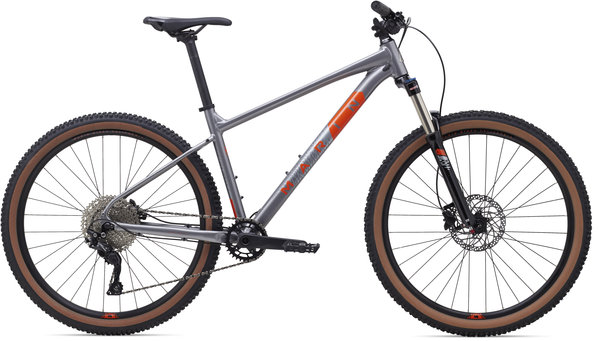 Marin Bobcat Trail 5 Color: Gloss Charcoal/Silver/Roarange