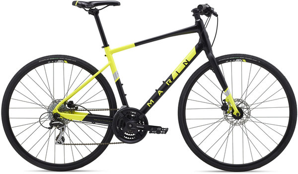 Marin Fairfax 2 Color: Black Yellow