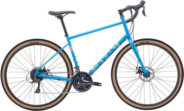 Marin Four Corners Color: Gloss Blue