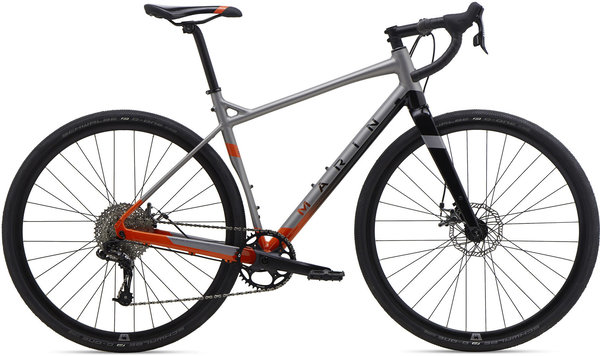 Marin Gestalt X10 Color: Silver Black Orange