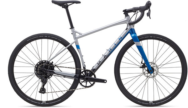 Marin Gestalt X10 Color: Gloss Chrome/Blue/Black