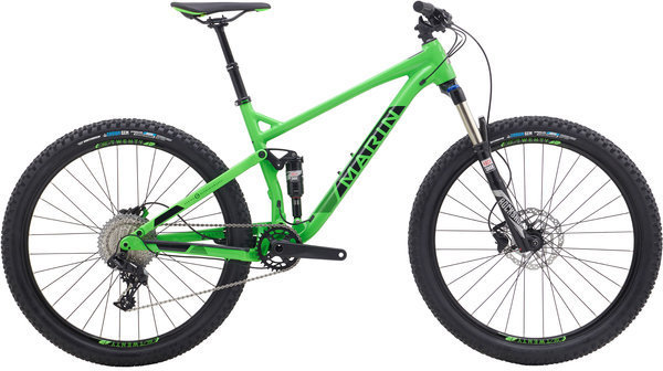 Marin Hawk Hill 2 Color: Gloss Vis Green