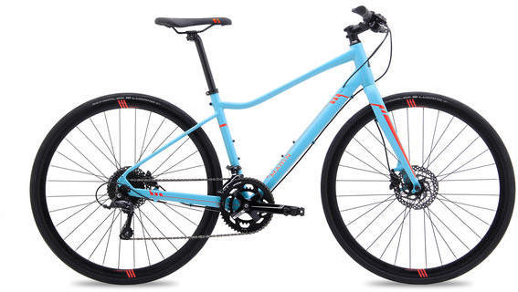 Marin Terra Linda SC4 Color: Satin Blue w/Red