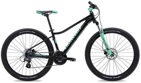 Marin Wildcat Trail 3 Color: Gloss Black w/Teal
