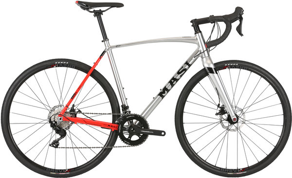 Masi CXR Comp Alloy Color: Silver/Electric Red