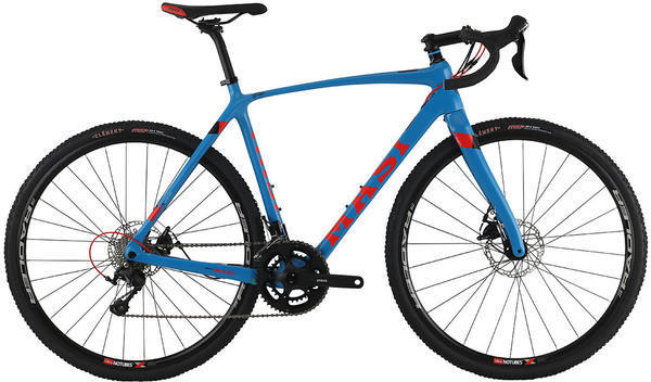 Masi CXRc Comp Color: Blue/Roarange