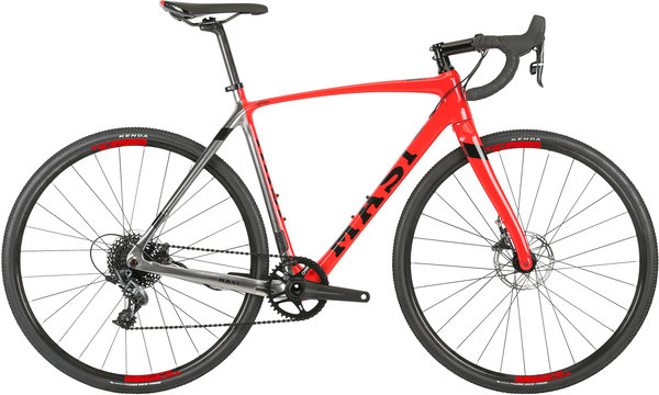 Masi CXRc Expert Color: Chrome/Electric Red
