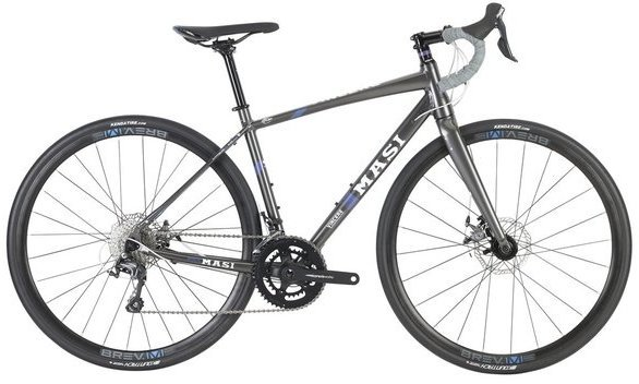 Masi Vincere Bellissima Disc Color: Charcoal/Abalone