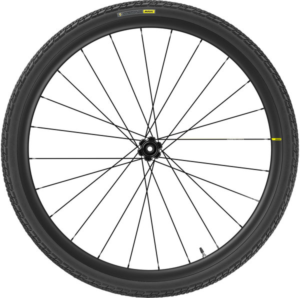 Mavic Allroad Pro Carbon SL UST Front Color: Black