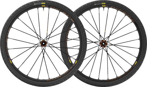 Mavic Allroad Pro UST Disc Centerlock WTS Wheelset Color: Black