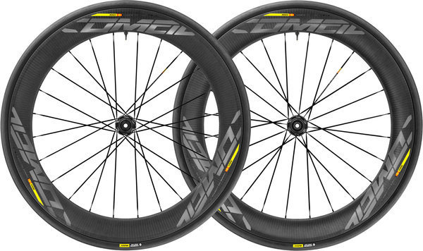 Mavic Comete Pro Carbon SL UST Disc Centerlock Wheelset Color: Black