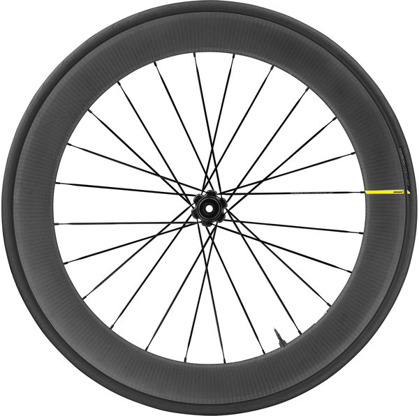 Mavic Comete Pro Carbon SL UST Disc Front Color: Black