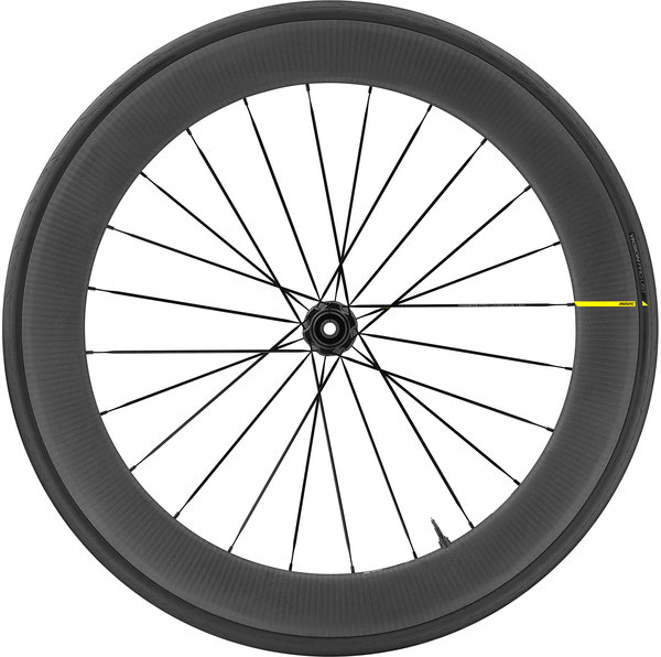 Mavic Comete Pro Carbon SL UST Disc Rear Color: Black