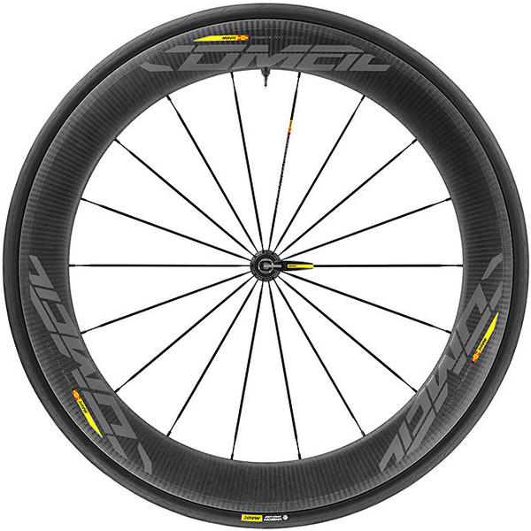 Mavic Comete Pro Carbon SL UST WTS Front Color: Black