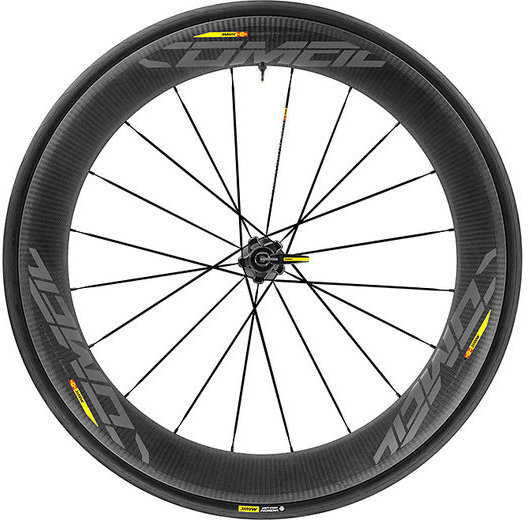 Mavic Comete Pro Carbon SL UST WTS Rear Color: Black