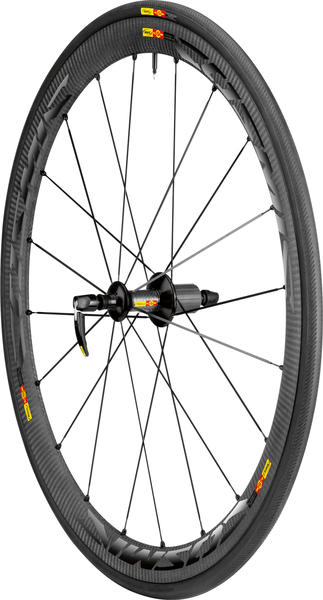 Mavic Cosmic Carbone 40 C Rear Wheel/Tire (Clincher)
