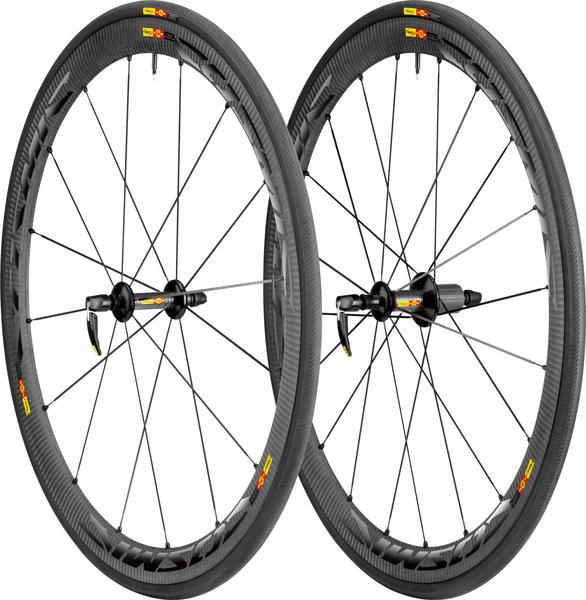 Mavic Cosmic Carbone 40 C Wheel/Tire Set (Clincher)