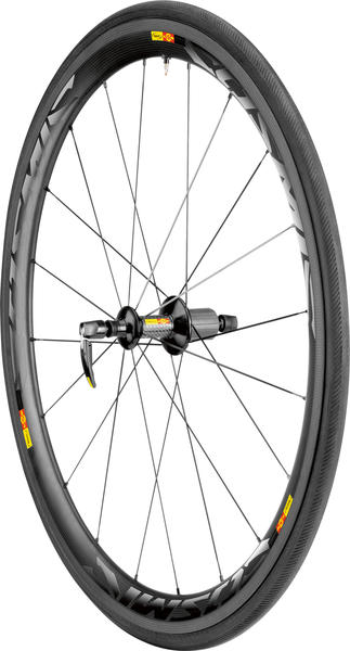Mavic Cosmic Carbone 40 T Rear Wheel/Tire (Tubular)